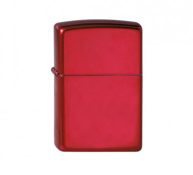 Apple Candy Red Zippo