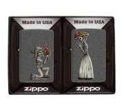 Day of the Dead skull Zippo