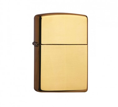 High Polished Zippo Brass