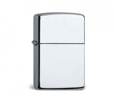 High Polished Zippo Chrome