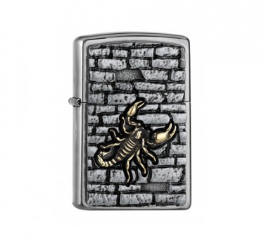 Scorpion on the wall Zippo