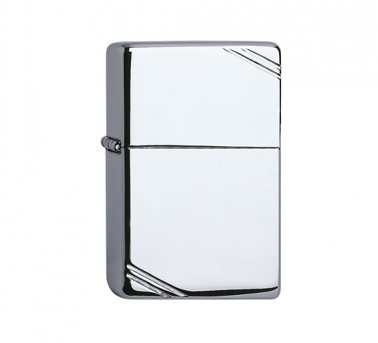 Vintage High polished Zippo Chrome